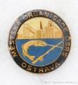 Rybářský odznak MO ČSRS Ostrava