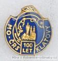 Rybářský odznak MO ČRS Klatovy 100 let