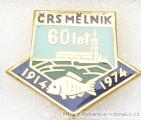 Rybářský odznak ČRS Mělník 60 let 1914-1