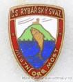 Rybářský odznak ČS. Rybářský svaz MO Mos