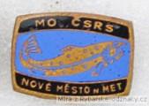 Rybářský odznak MO ČSRS Nové Město n. Me