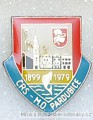 Rybářský odznak Mo ČRS Pardubice 80let 1