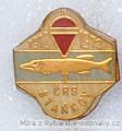 Rybářský odznak ČRS Staňkov 60 let 1912-
