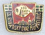 Rybářský odznak ČS. Rybářský svaz M.O. P