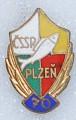 Rybářský odznak ČSSR Plzeň 70 let