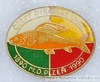 Rybářský odznak ČRS M.O. Plzeň 100 let 1