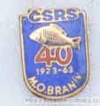 Rybářský odznak ČSRS MO Braník 40 let 19