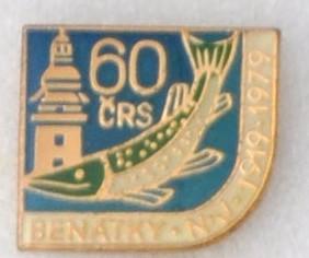 Rybářský odznak 60 let MO Benátky nad Jizerou