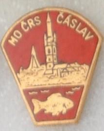 Rybářský odznak MO ČRS Čáslav červený