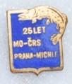 Rybářský odznak  25 let MO ČRS Paha Mich