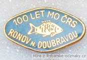 Rybářský odznak 100 let MO ČRS Ronov n.