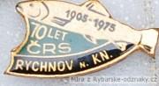 Rybářský odznak 70 let ČRS Rychnov nad K