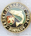 Rybářský odznak Český rybářský svaz Soko