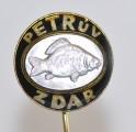 Rybářský odznak Petrův zdar - kapr černý