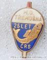 Rybářský odznak MO Třemošná 25 let