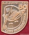 Rybářský odznak M.O. Gottwaldov 50 let