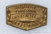 Rybářský odznak Zasloužilý pracovní LRS