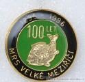 Rybářský odznak MRS Velké Meziříčí 100 l