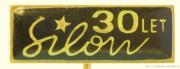 Rybářský odznak Silon 30 let