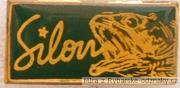 Rybářský odznak Silon s rybou