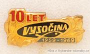 Rybářský odznak Vysočina 10 let