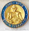 Rybářský odznak Státní rybářství 1919-19