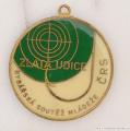 Rybářský odznak Zlatá udice zelená