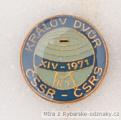 Rybářský odznak XIV. Mistrovství ČSSR v