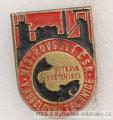 Rybářský odznak Mistrovství ČSR v RT 195