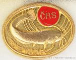 Rybářský odznak Trofejní úlovek zlatý od