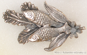 Rybářský odznak 2 ryby