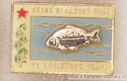 Rybářský odznak ČRS za záslužnou práci