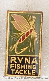Rybářský odznak Ryna fishing tackle
