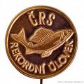 Rybářský odznak Trofejní úlovek bronzový