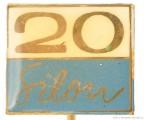 Rybářský odznak Silon 20 let