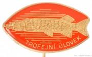Rybářský odznak Trofejní úlovek stříbrný