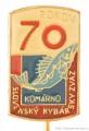 Rybářský odznak SRZ Komárno 70 Rokov