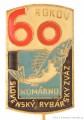 Rybářský odznak SRZ Komárno 60 Rokov