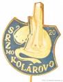 Rybářský odznak SRZ MO Kolárovo 20 let