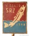 Rybářský odznak V. Zjazd SRZ 1988