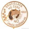 Rybářský odznak MO ČSRS Bratislava