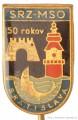 Rybářský odznak MSO SRZ Bratislava 50 ro