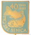 Rybářský odznak MO SRZ Senica 1949-1989