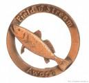 Rybářský odznak Weakfish 7 lb 5 oz
