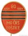 Rybářský odznak MO ČRS Loštice 80 let
