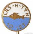 Rybářský odznak LRS-H-Týn 10 let