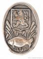 Rybářský odznak Státní rybářství, čepičá