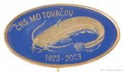 Rybářský odznak ČRS MO Tovačov 1923-2003