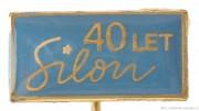 Rybářský odznak Silon 40 let