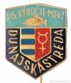 Rybářský odznak 25. výročie MORZ Dunajsk